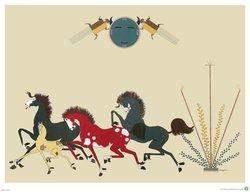 Poster Nevada Horses