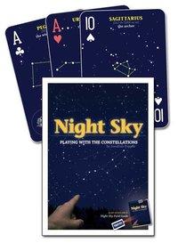 Playing Cards Night Sky