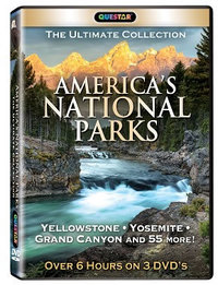 DVD Americas National Parks Ultimate Collection 3 Pack