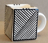 Mini Mug Square Line Design