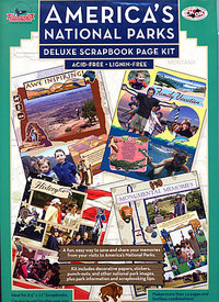Scrapbook Americas National Parks