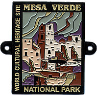 Hiking Staff Medal Cliff Palace