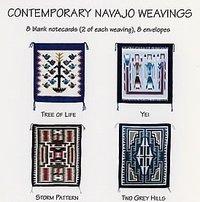 Notecard Set Contemporary Navajo Weavings