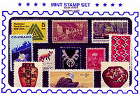 Mint Stamp Set