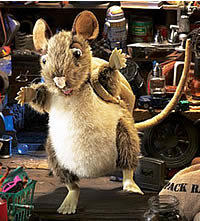 Puppet Pack Rat
