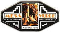 Pin Mesa Verde Logo