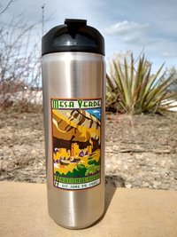 Travel Mug Stainless Steel 16 oz