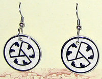 Earrings MVMA Logo