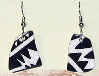 Earrings Triangles Sherd