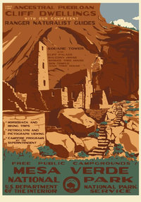 Poster WPA Mesa Verde
