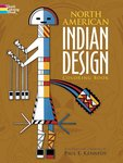 Coloring Book North American Indian Design