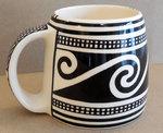 Mug Scroll Design