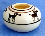 Seed Jar Zoomorphic Sheep Design