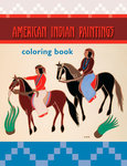 Coloring Book American Indian Paintings