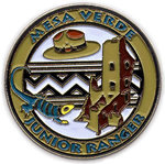 Pin Jr Ranger Logo