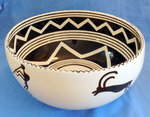 Bowl with Leaping Sheep & Kokopelli