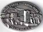 Magnet Cliff Palace Pewter Oval