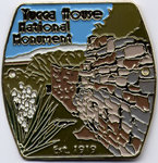 Hiking Staff Medal Yucca House