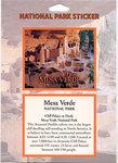 Sticker Mesa Verde Passport