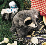 Puppet Baby Raccoon 2238